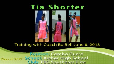 Training with Coach Bo – June 8, 2013