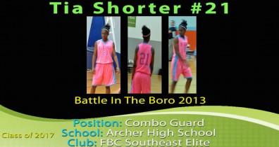 Tia @ The Battle In The Boro 2013