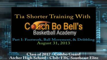 Part I: Training w/Coach Bo – Footwork, Ball Movement, & Dribbling