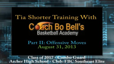 Part II: Training w/Coach Bo – Offensive Moves