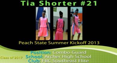 Tia @ Peach State Summer Kickoff 2013
