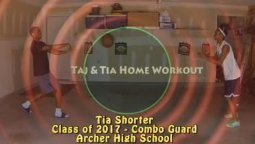 Taj & Tia Working Out