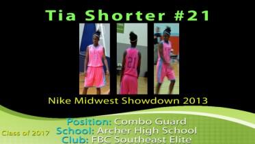 Tia Shorter – Nike Midwest Showdown 2013