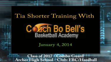 Training with Coach Bo – Jan. 4, 2014