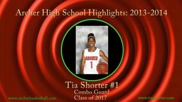 Tia's Archer HS Highlights: 2013-2014