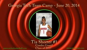 Tia @ Ga Tech Team Camp 2014