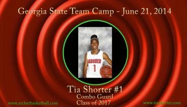Tia @ Georgia State Team Camp 2014
