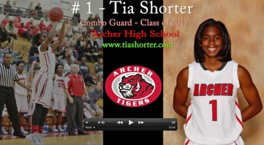 #1 – Tia Shorter – 2nd Half of the 2014-15 Season