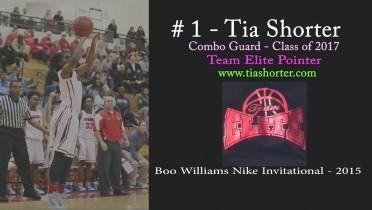 Tia @ Boo Williams Nike Invitational – 2015