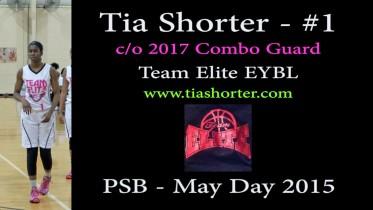 Tia Shorter #1 @ PSB – May Day 2015