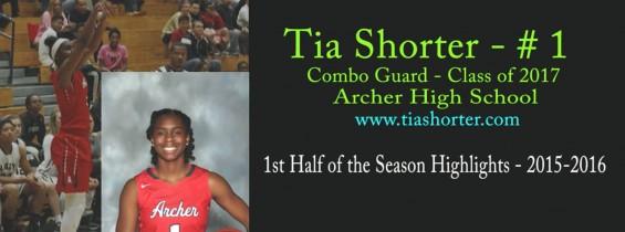 Tia's 1st Half of the Season Highlights: 2015-2016