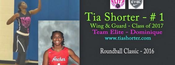 Tia @ The Roundball Classic – 2016