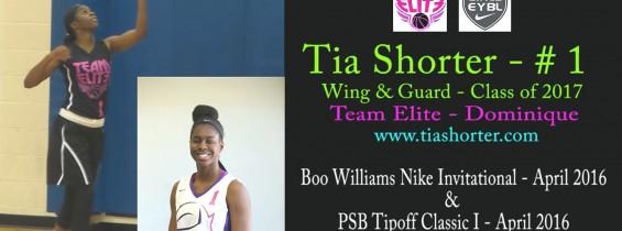 Tia @ Boo Williams & Tip-off Classic I – April 2016